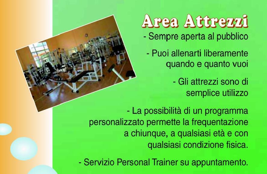 Centro sportivo valle maira palestra sala attrezzi for Attrezzi piscina